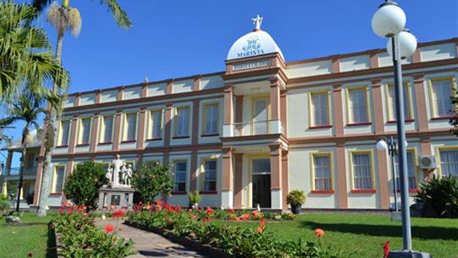 O Centro Educacional Marista de Bom Princípio é um espaço amplo, com infraestrutura completa para atividades multidisciplinares em áreas fechadas e abertas.
