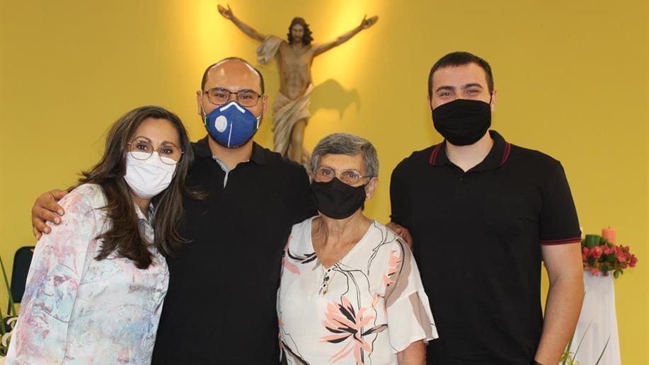 A celebração foi realizada na Casa Marista da Juventude no dia 11/12