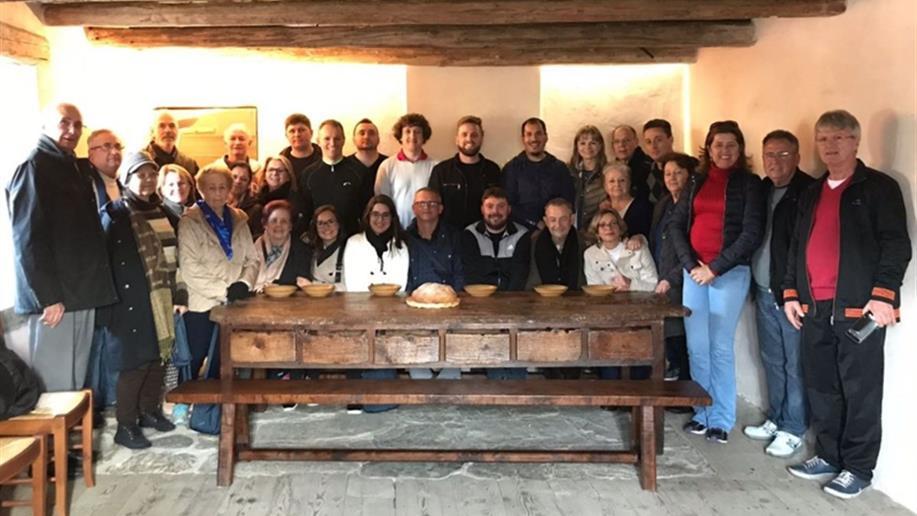Um grupo de 29 Irmãos, Leigos/as e colaboradores participou do projeto Caminhos de Champagnat.
