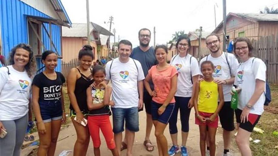 Voluntários irão para três espaços de missão diferentes