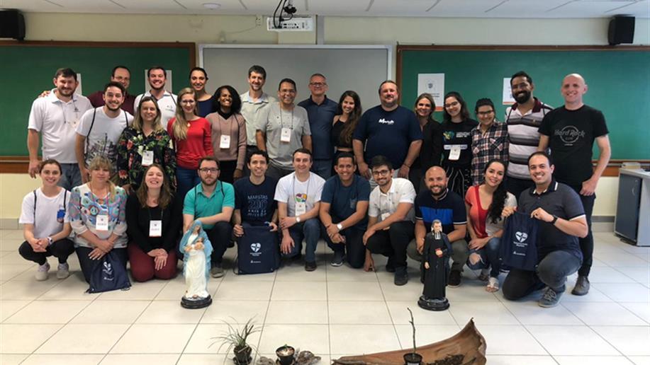 Encontro reuniu representantes de todo o Brasil Marista em Porto Alegre