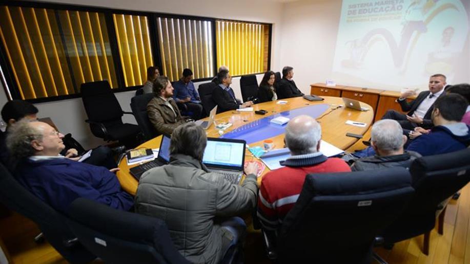 Para fortalecer a presença significativa do jeito de educar marista, desde 2008 começou-se a construir as bases da consolidação da rede de educação básica do Brasil Marista.