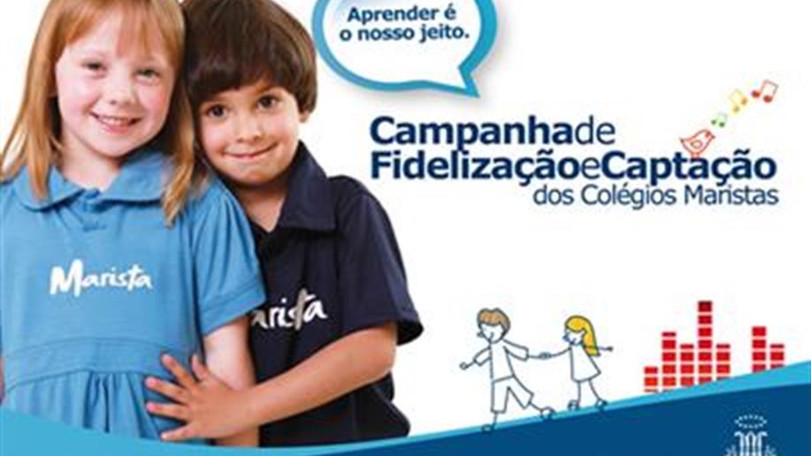 O case Aprender é o Nosso Jeito, sobre a Campanha de Fidelização e Captação dos Colégios Maristas de 2010, é o grande vencedor do 37º Prêmio Aberje Nacional, na categoria campanha de comunicação e marketing.