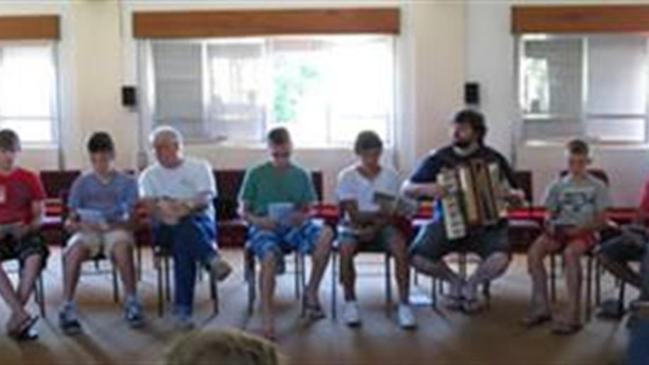 O Centro de Formação Marista, de Santo Ângelo, sediou o Encontro Vocacional Geral, de 15 a 18/11, que reuniu Animadores Vocacionais e 22 jovens provindos de diversas regiões do Estado.