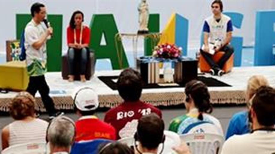 O tema do Encontro Internacional de Jovens Maristas, Change – Faça a diferença, pautou diversos momentos do encontro que reúne mais de 300 jovens maristas, de 40 países.