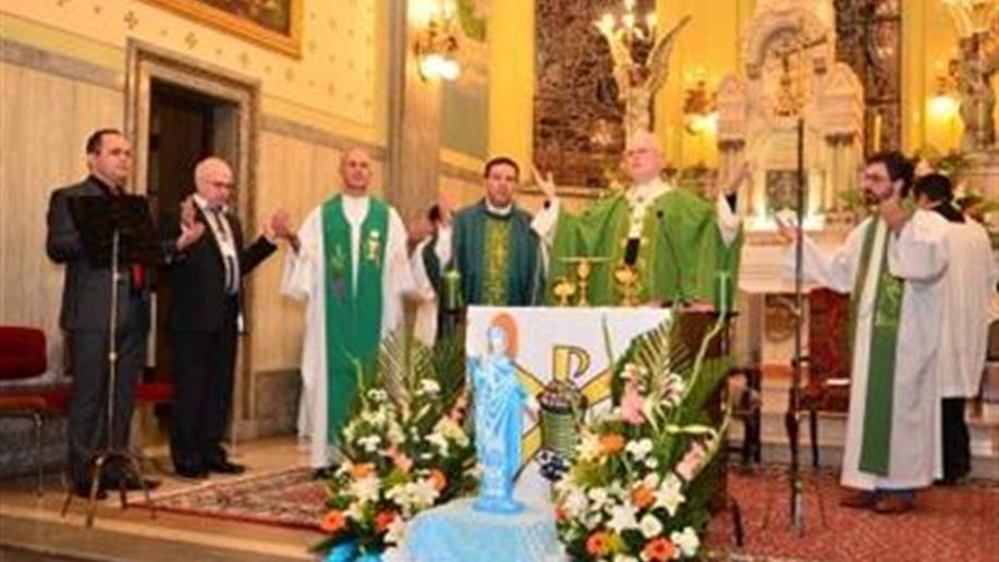 Cerca de 250 pessoas participaram da abertura do Simpósio de Mariologia, na noite do domingo 17/7, no Colégio Marista Arquidiocesano, em São Paulo (SP).