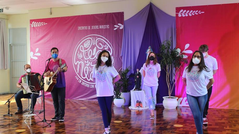 De forma inédita, o evento reuniu mais de 800 jovens da PJM de forma híbrida