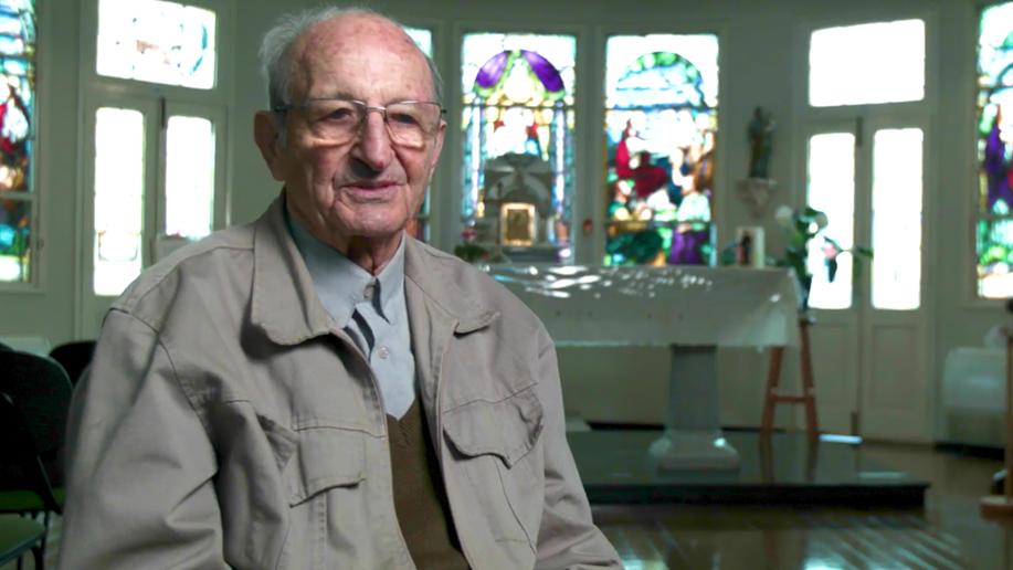 O Irmão tinha 70 anos de Vida Religiosa Marista