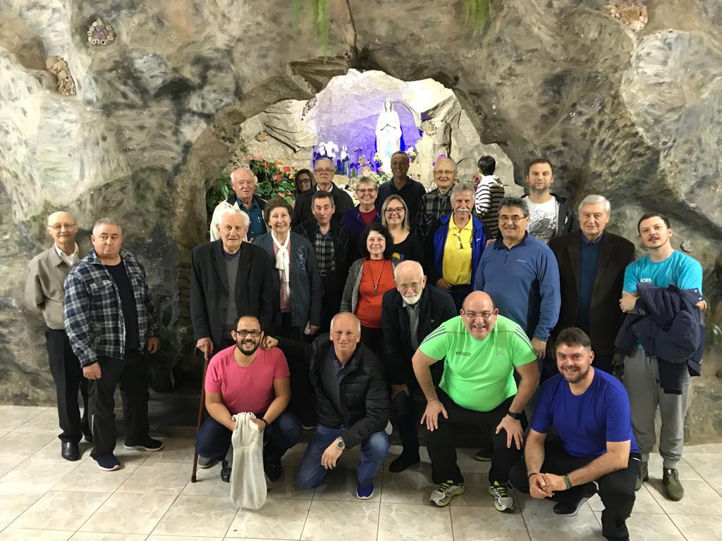 O encontro foi realizado no Recanto Marista Medianeira, em Veranópolis