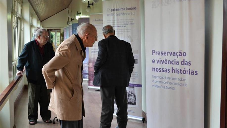 Exposição itinerante apresenta o projeto do Centro de Espiritualidade e Memória Marista