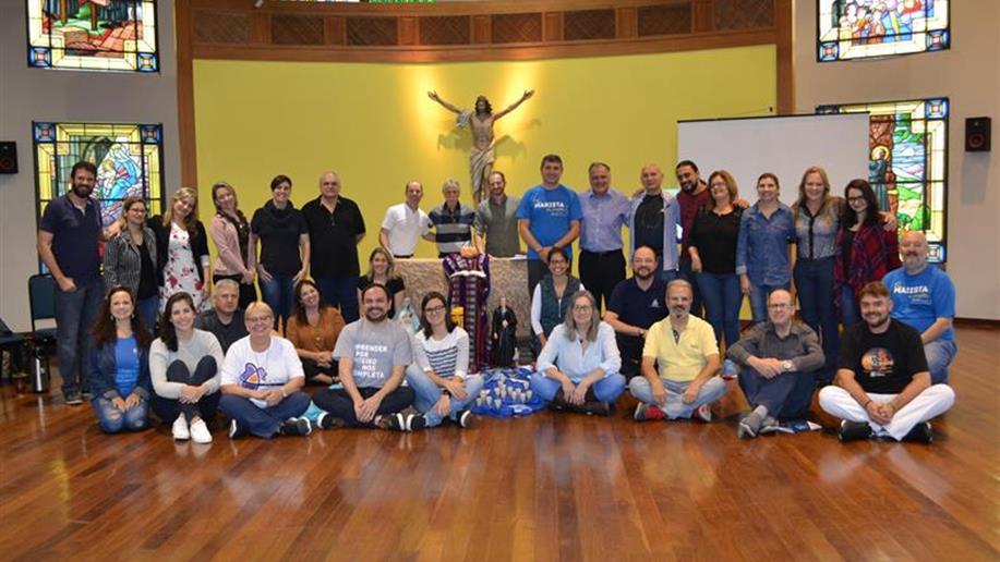 O encontro foi realizado na Casa Marista da Juventude em Porto Alegre