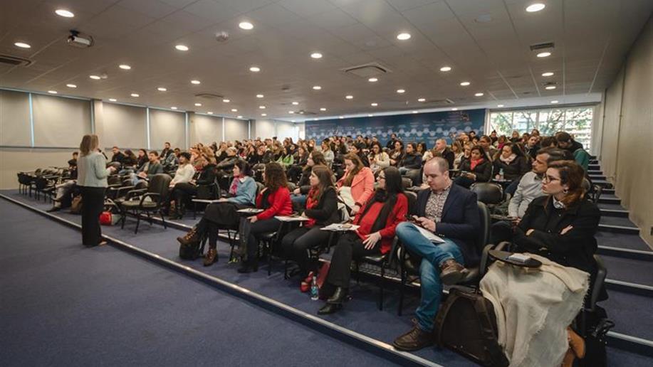O evento foi realizado na PUCRS e reuniu mais de 130 profissionais da Rede Marista
