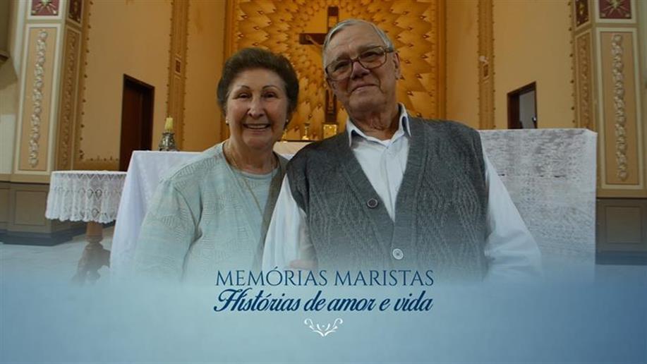 O casal de Leigos participou da quarta edição do projeto Memórias Maristas: histórias de amor e vida
