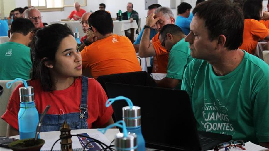 Irmãos e Leigos/as se prepararam para construir as prioridades do Triênio 2019-2021