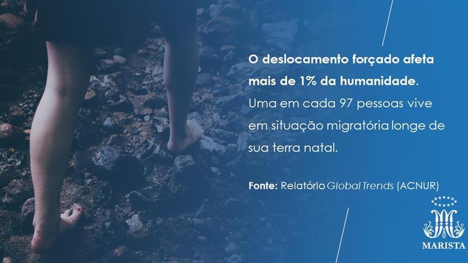 O dia 20 de junho é marcado como uma data de reflexão sobre a questão migratória no mundo