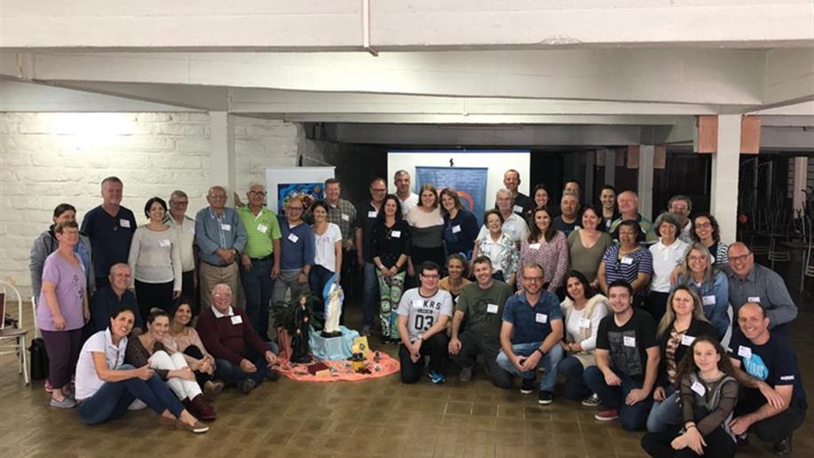 Fraternidades Santa Cruz e Ir. Paulo Pasin participaram do evento em Santa Cruz do Sul