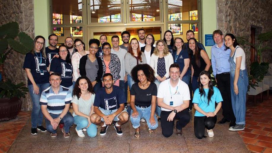 Durante a tarde de terça-feira, colaboradores receberam formação institucional