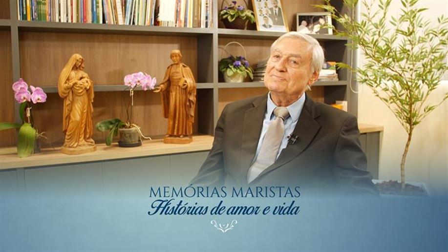 O Irmão Arlindo é um dos entrevistados da quarta edição do projeto Memórias Maristas: histórias de amor e vida