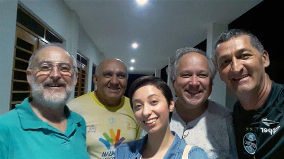 Janaíne Perini ministrará aulas de português no país asiático até julho