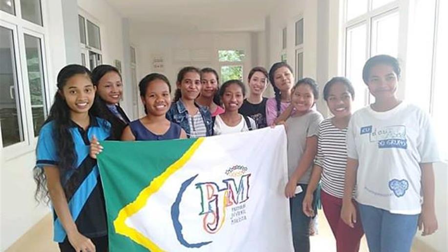 Jovem atuou junto como professora auxiliar de língua portuguesa em um instituto de educação