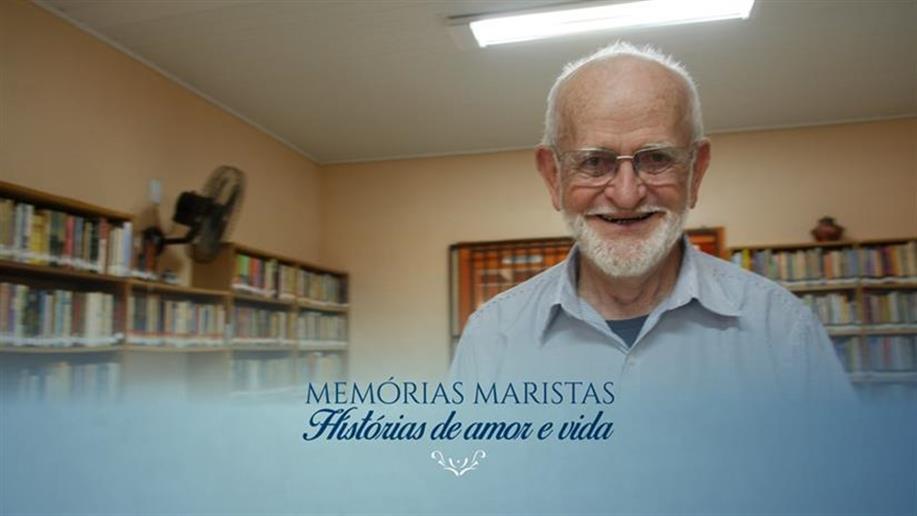 O religioso é um dos personagens do projeto Memórias Maristas: histórias de amor e vida
