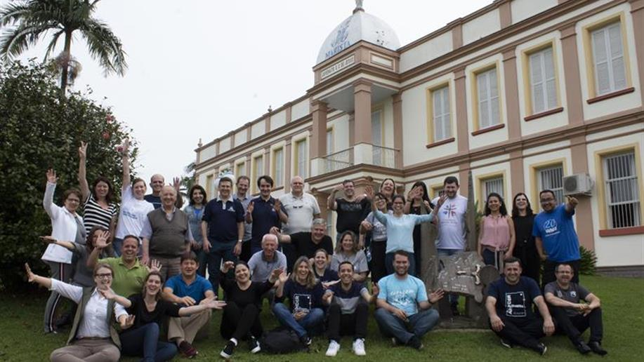 Durante a última semana de setembro, atividades de formação do PEM ocorreram em Porto Alegre e Bom Princípio
