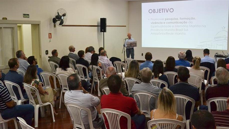 Cerimônia divulga iniciativa que propõe contar a história marista no sul do Brasil
