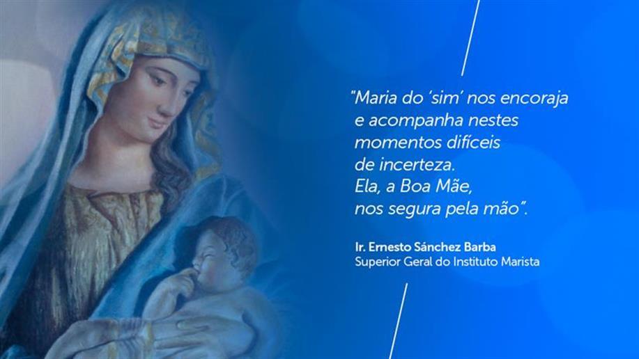 Carta de Superior Geral do Instituto Marista recorda a coragem de Maria como luz para o enfrentamento da pandemia