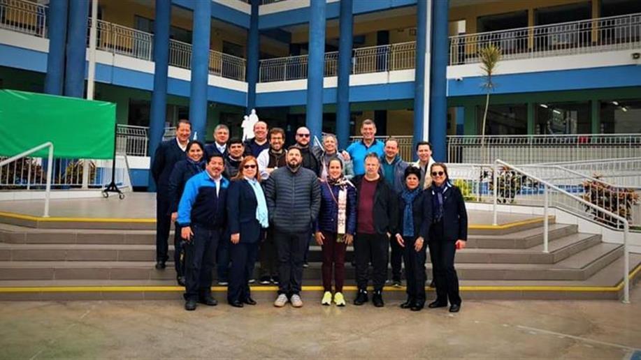 A equipe da iniciativa estratégica da Região América Sul esteve reunida em Lima, na última semana de agosto