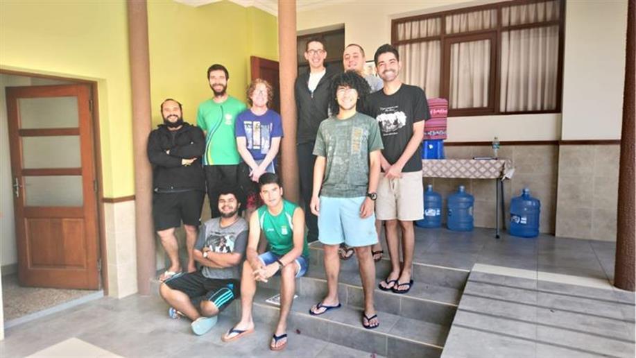 Durante uma semana, oito noviços participaram da formação, na Bolívia