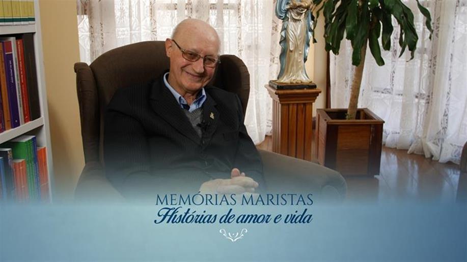 O Irmão é um dos entrevistados do projeto Memórias Maristas: histórias de amor e vida