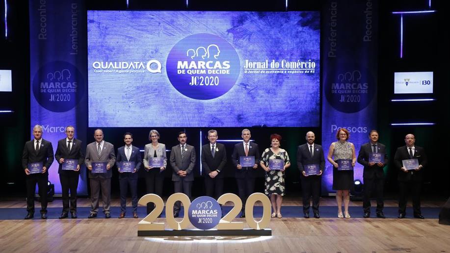 A entrega do Prêmio Marcas de Quem Decide foi realizada nesta terça-feira, 10 de março