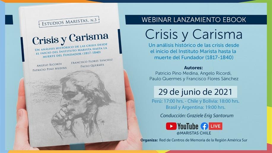"""""""Crisis y el Carisma"""" será lançada nesta terça, em um webinar no Youtube"""