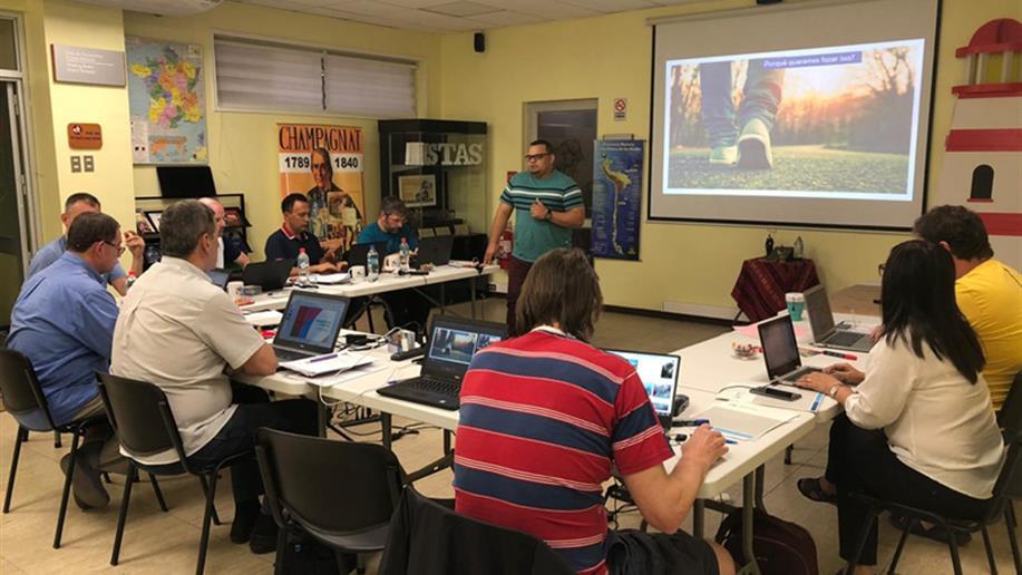 La reunión fue en la primera quincena de diciembre, en Chile