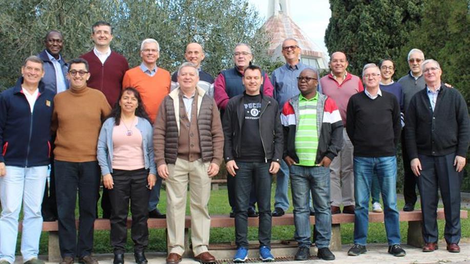 Encontro na Casa Geral reúne representantes de todo o mundo marista
