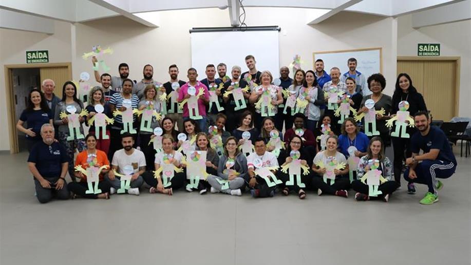 Cerca de 40 Irmãos, colaboradores/as e Leigos participaram da semana de formação