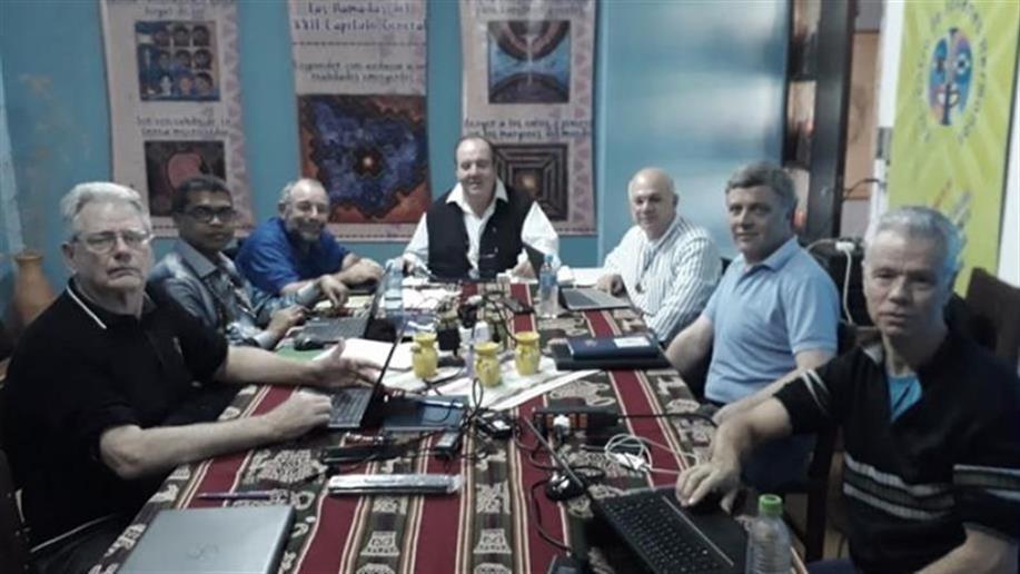 Representantes das Unidades Administrativas estiveram reunidos no Paraguai para definir perspectivas do próximo ano